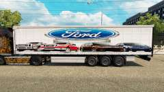 Skin Ford v2.0 curtain semi-trailer