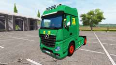 Mercedes-Benz Actros MP4 update for Farming Simulator 2017