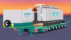 Low sweep with the load transformer Siemens