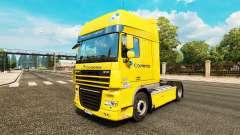 Correios skin for DAF truck