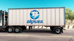 Skin Alpura the metal trailer
