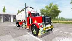 Peterbilt 388 water tanker