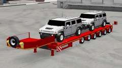 Low sweep with cars Hummer