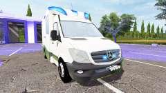 Mercedes-Benz Sprinter BlueTEC (Br.906) for Farming Simulator 2017