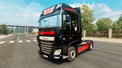 Skin Black Cat Trans for the truck DAF