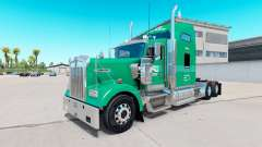 Skin Interstate Dist. Co. on the truck Kenworth
