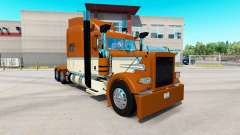 Creamy Gold skin for the truck Peterbilt 389 for American Truck Simulator