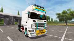 Scania R730 long for Farming Simulator 2017