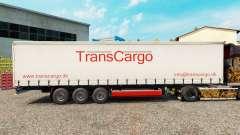 TransCargo skin for curtain semi-trailer