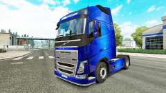 Fantastic Blue skin for Volvo truck