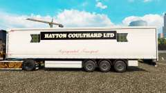 Skin Hayton Coulthard Ltd in curtain semi-traile