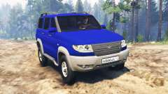 UAZ-3163 Patriot turbodiesel