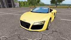 Audi R8 V10 Spyder v1.1 for Farming Simulator 2017