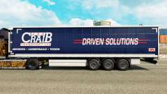 Skin ARR Craib Transport on semi-trailer curtain