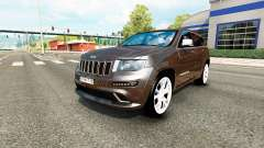 Jeep Grand Cherokee SRT8 v1.2 for Euro Truck Simulator 2