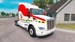 Ghostbusters skin for the truck Peterbilt 579 for American Truck Simulator
