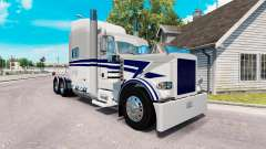 Bowers Trucking skin for the truck Peterbilt 389