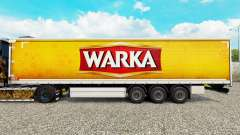 Skin Warka curtain semi-trailer