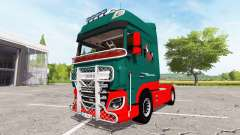 DAF XF v1.1 for Farming Simulator 2017