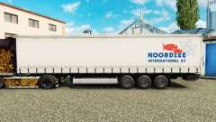 Skin Noordzee on a curtain semi-trailer for Euro Truck Simulator 2