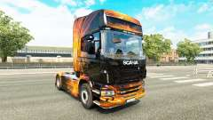 Cubical Flare skin for Scania truck for Euro Truck Simulator 2