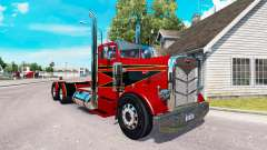 The Red and Black skin for the truck Peterbilt 3