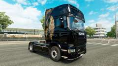 Skin for truck Scania for Euro Truck Simulator 2