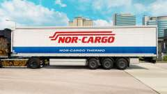 Skin Nor-Cargo Thermo on a curtain semi-trailer