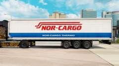 Skin Nor-Cargo Thermo on a curtain semi-trailer