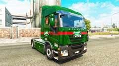 Sada Transportes skin for Iveco tractor unit for Euro Truck Simulator 2