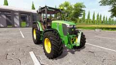 John Deere 5085M v1.2 for Farming Simulator 2017