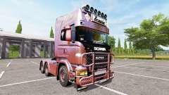 Scania R730 old school for Farming Simulator 2017
