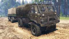 GAZ-66 ATV for Spin Tires