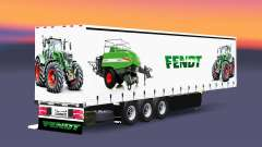 Curtain semi-trailer Schmitz Cargobull Fendt v2.0 for Euro Truck Simulator 2