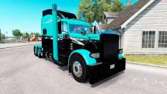 Skin Green Splash for the truck Peterbilt 389