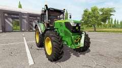 John Deere 6115M v1.2 for Farming Simulator 2017