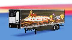 Skin Las Vegas for reefer semi-trailer