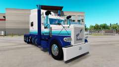 Skin Blur Line on the truck Peterbilt 389