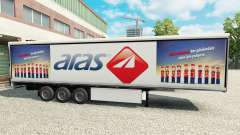 Skin Aras on refrigerated semi-trailer