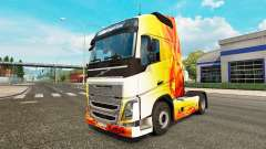 Flame skin for Volvo truck