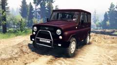 UAZ-315195 hunter turbo v2.0 for Spin Tires