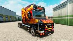 Skin Dragon for truck Scania T