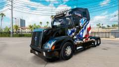 American Flag skin for Volvo truck VNL 670
