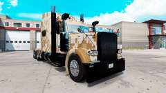 Camo skin for the truck Peterbilt 389 for American Truck Simulator
