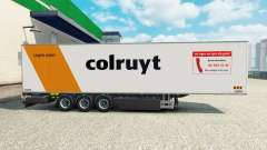 Semi-trailer refrigerator Chereau Colruyt