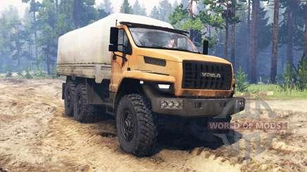 Ural-4320-6951-74 2015 [Ural Next] for Spin Tires