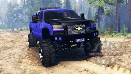 Chevrolet Silverado for Spin Tires