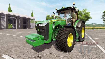 John Deere 8320R v1.2 for Farming Simulator 2017