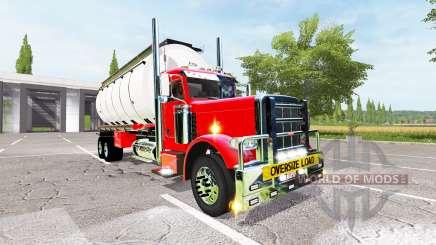 Peterbilt 388 water tanker for Farming Simulator 2017