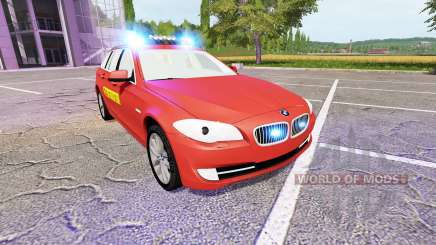 BMW 530d Touring (F11) Feuerwehr for Farming Simulator 2017
